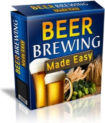 Ebook cover: Beer Brewing Made Easy