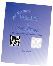 Ebook cover: Old Testament Puzzles & Activities
