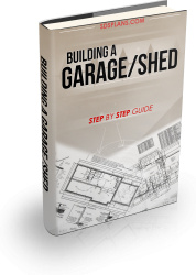 Ebook cover: Building  a Garage or Shed