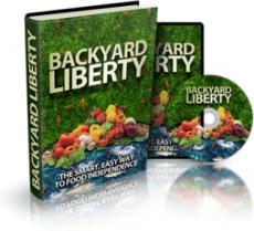 Ebook cover: Backyard Liberty