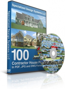 Ebook cover: CAD House Plans