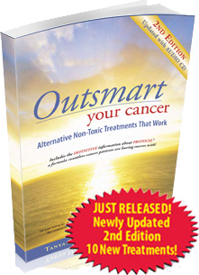 Ebook cover: Outsmart Your Cancer