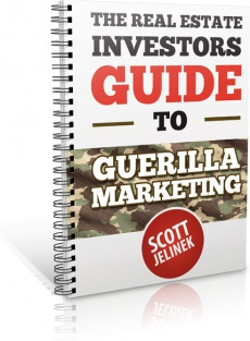 Ebook cover: The Real Estate Investors Guide To Guerrilla Marketing