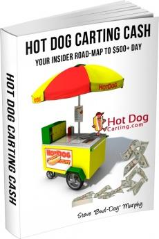 Ebook cover: Hot Dog Carting Cash