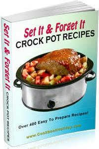 Ebook cover: Set It & Forget It Crock Pot Recipes