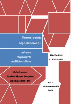 Ebook cover: Comunicação organizacional: externa, responsável, multidisciplinar.