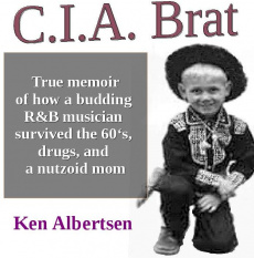 Ebook cover: C.I.A. Brat