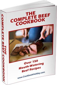 Ebook cover: The Complete Beef Cookbook