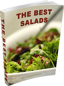 Ebook cover: The Best Salads