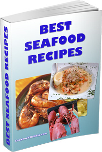Ebook cover: Best Seafood Recipes Cookbook