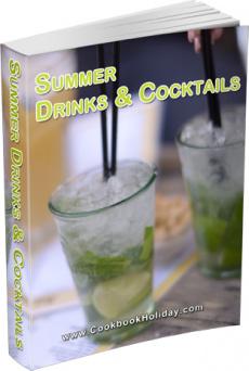 Ebook cover: Summer Drinks & Cocktails