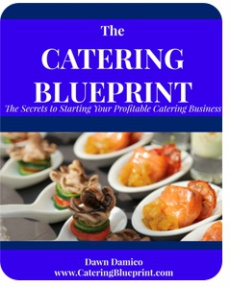 Ebook cover: The Catering Blueprint