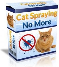 Ebook cover: Cat Spraying No More