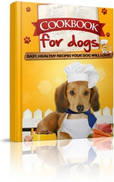 Ebook cover: Cookbook for dogs