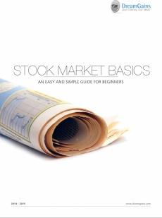 Ebook cover: Stock Market Basics - An easy and simple guide for beginners