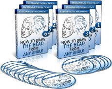 Ebook cover: How To Draw The Head From Any Angle