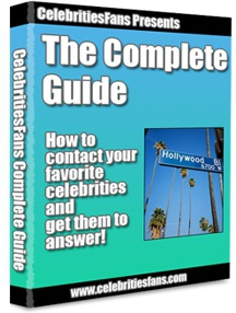 Ebook cover: How To Contact Your Favorite Celebrities and Get Them to Answer