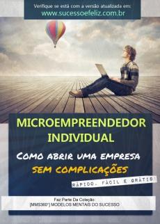 Ebook cover: Microempreendedor Individual