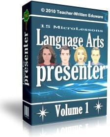 Ebook cover: Language Arts Presenter