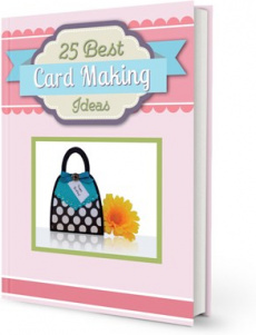 Ebook cover: 25 Best Card Making Ideas
