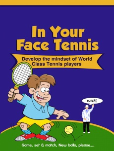 Ebook cover: In Your Face Tennis