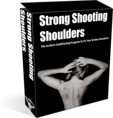Ebook cover: Strong Shooting Shoulders
