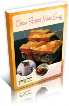 Ebook cover: Clean Recipes Made Easy