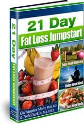 Ebook cover: 21 Day Fat Loss Jumpstart