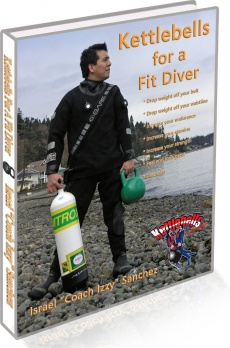 Ebook cover: The Kettlebells For A Fit Diver