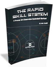 Ebook cover: The Rapid Skill System - Basketball