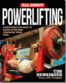 Ebook cover: All About Powerlifting