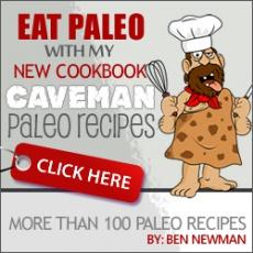 Ebook cover: Caveman Paleo Recipes