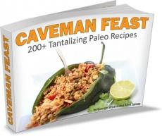 Ebook cover: The Caveman Feast