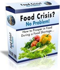 Ebook cover: Food Crisis No Problem - The Solution is Aquaponics