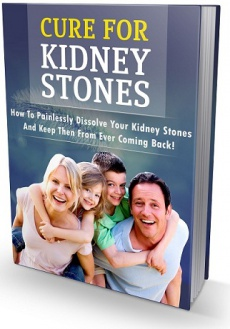 Ebook cover: Cure For Kidney Stones