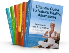 Ebook cover: Guide to Natural Healing Alternative