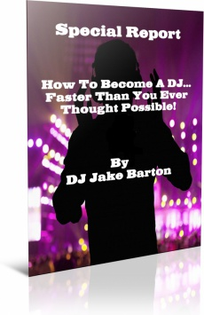 Ebook cover: How To Be A Mobile DJ In 30 Days Or Less