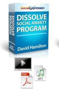 Ebook cover: Dissolve Social Anxiety Program