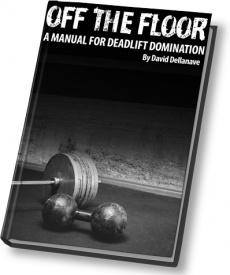 Ebook cover: Off The Floor: A Manual For Deadlift Domination