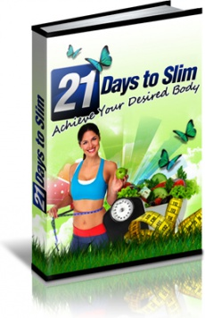 Ebook cover: 21 Days to Slim