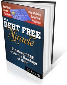 Ebook cover: The Debt Free Miracle