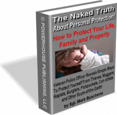 Ebook cover: The Naked Truth About Personal Protection