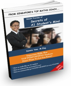 Ebook cover: Secrets of A1 Student's Mind