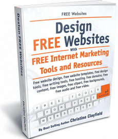 Ebook cover: Design Free Websites with Free Tools and Resources