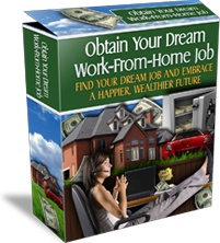 Ebook cover: Obtain Your Dream Work-From-Home Job