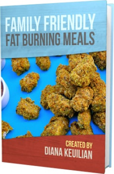 Ebook cover: Family Friendly Fat Burning Meals