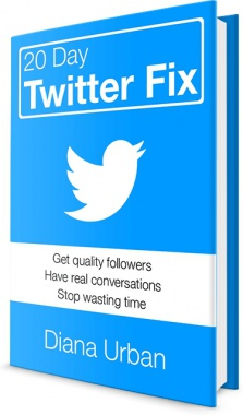 Ebook cover: 20 Day Twitter Fix