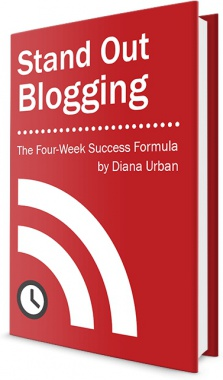 Ebook cover: Stand Out Blogging