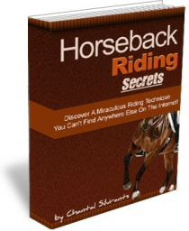 Ebook cover: Horseback Riding Secrets