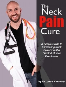 Ebook cover: Neck Pain Cure